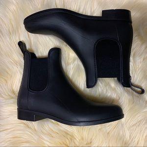 Sam Edelman black rain booties